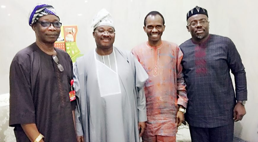 Business Meeting: Gov. Ajimobi Holds Strategic Meeting with DAWN Commission and Odu'a Investment Company Limited