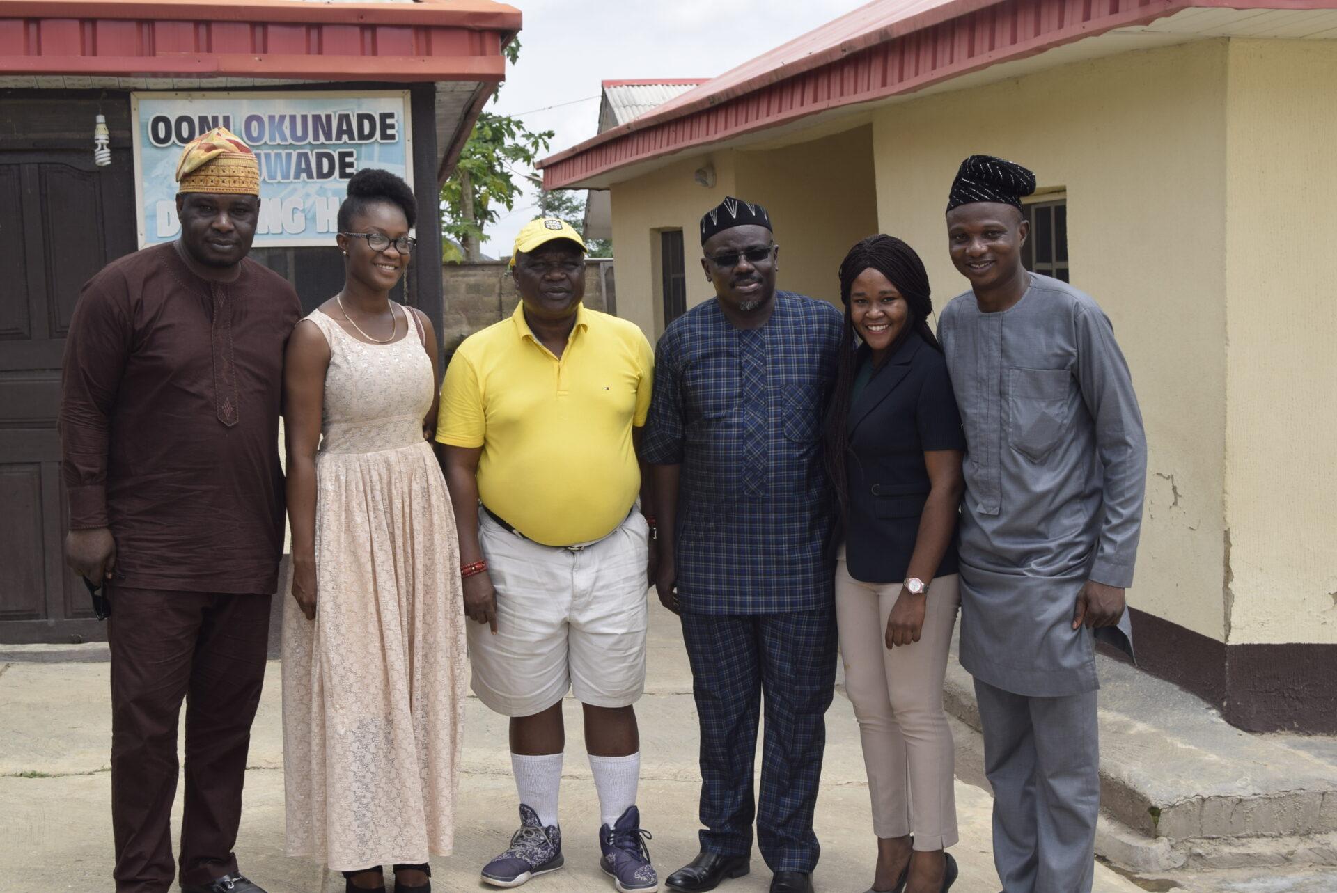 DAWN Team in Oke-Ila (Group Photo)