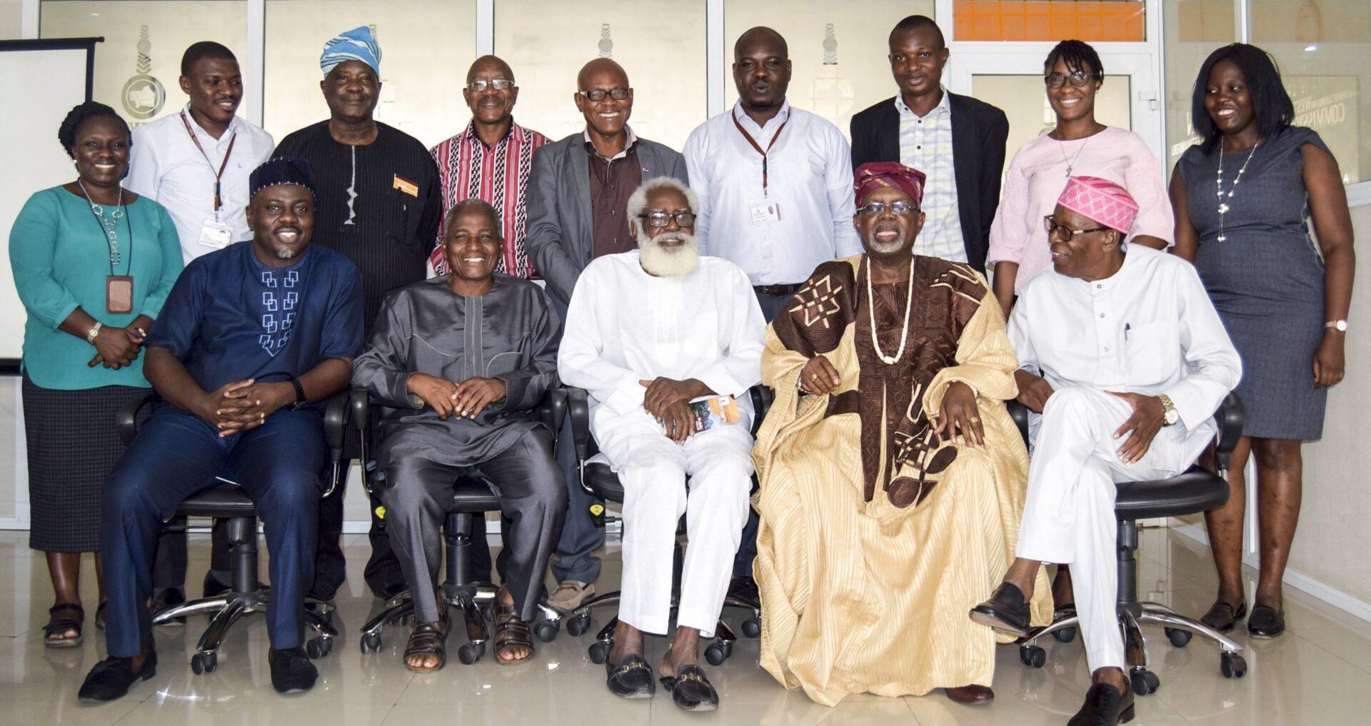 DAWN Commission Plays Host to the Fathers of Television in Western Nigeria