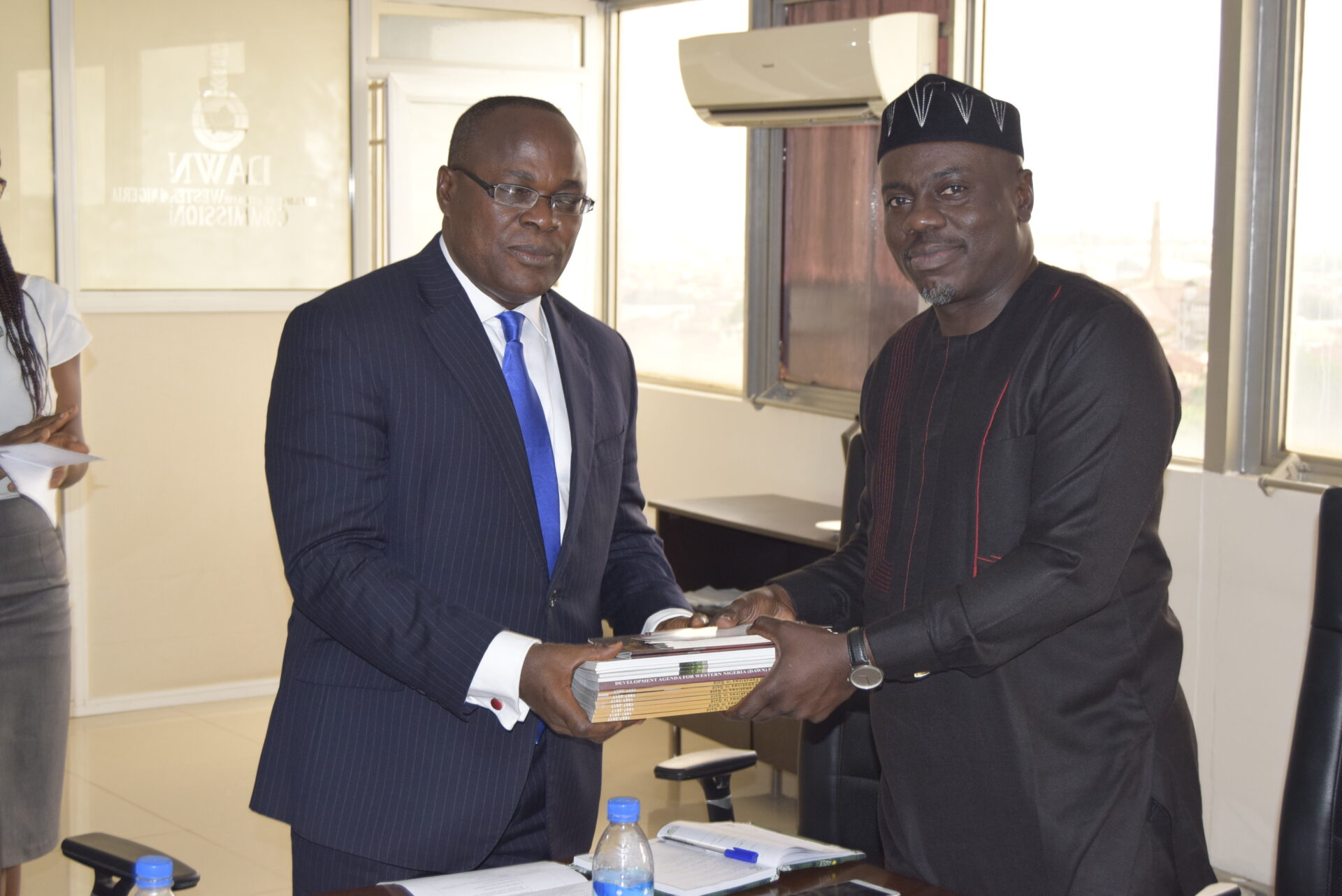 The South-East Governors' Forum (SEGF) on a Visit to DAWN Commission